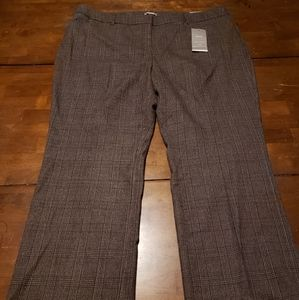 Maurices Size 22 Short Women's Plaid Career Pants